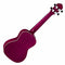 Ortega Earth Series Concert Ukulele in Ruby Raspberry