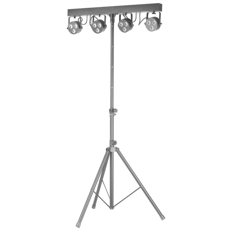 Stagg Performer Pro Light Set - x4 Eco PAR Spots with Floor Controller
