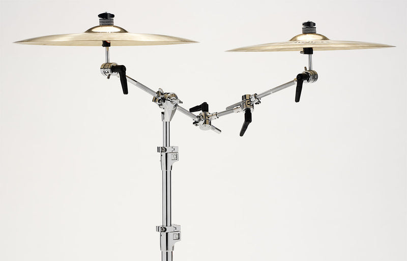 DW SM2012S Puppy Bone with cymbal arm.