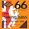 Rotosound SM66 Swing Bass 66 Bass Guitar Strings (.040 -.100) Hybrid