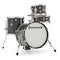 Ludwig Breakbeats by Questlove 4Pc Shell Pack in Black Gold Sparkle