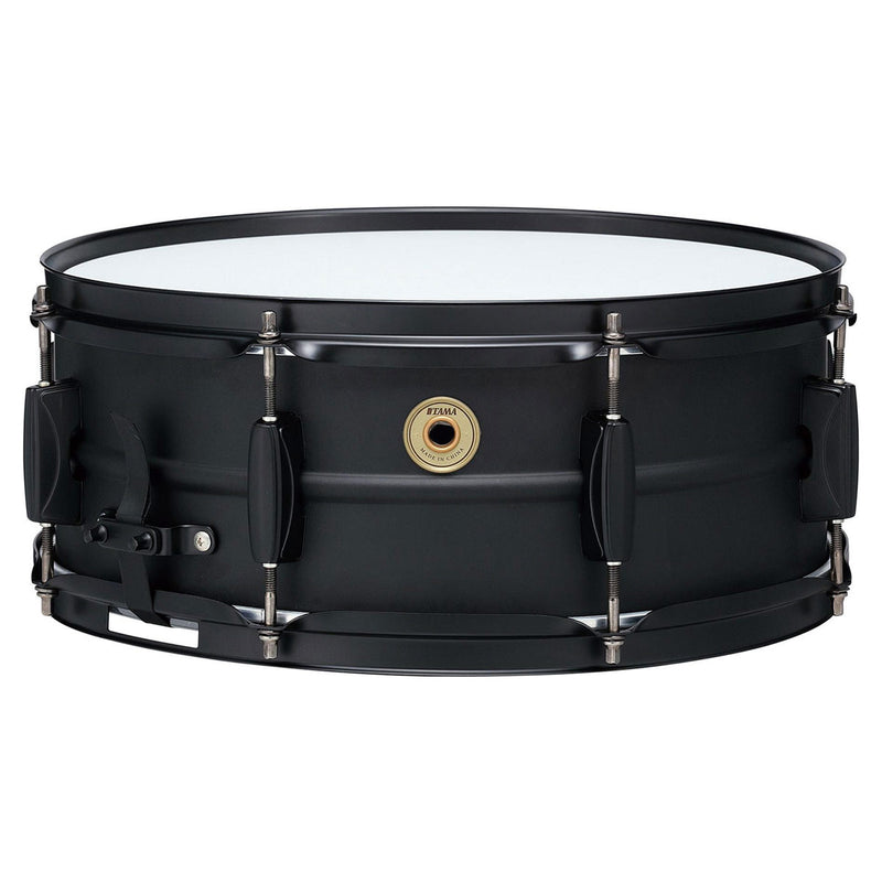 "Tama Metalworks 14""x5.5"" Black on Black Steel Snare Drum"