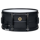 "Tama Metalworks 14""x6.5"" Black on Black Steel Snare Drum"