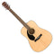 Fender CD-60S LH Acoustic Guitar in Natural - Walnut Fingerboard