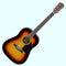 Fender CD-60 Acoustic Guitar in Sunburst