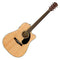 Fender CD-60S CE Electro Acoustic In Natural