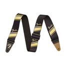 Fender Nylon Competition Stripe Strap in Gold