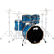 PDP By DW Concept Maple Limited Edition 5pc Shell Pack in Blue/Orange