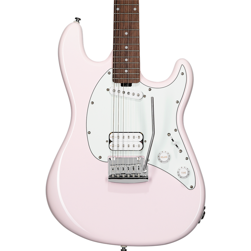 Sterling by Music Man SUB Cutlass Short Scale HS in Shell Pink