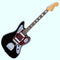 Squier Classic Vibe '70s Jaguar in Black - Laurel Fingerboard