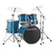 "Ludwig Evolution 22"" Fusion Drum Kit in Blue Sparkle"