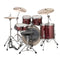 "Ludwig Evolution 22"" Fusion Drum Kit in Red Sparkle"