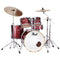 "Pearl Export EXX Drum Kit - 22""BD, 10""RT, 12""RT, 16""FT & 14""SD - Black Cherry Glitter"