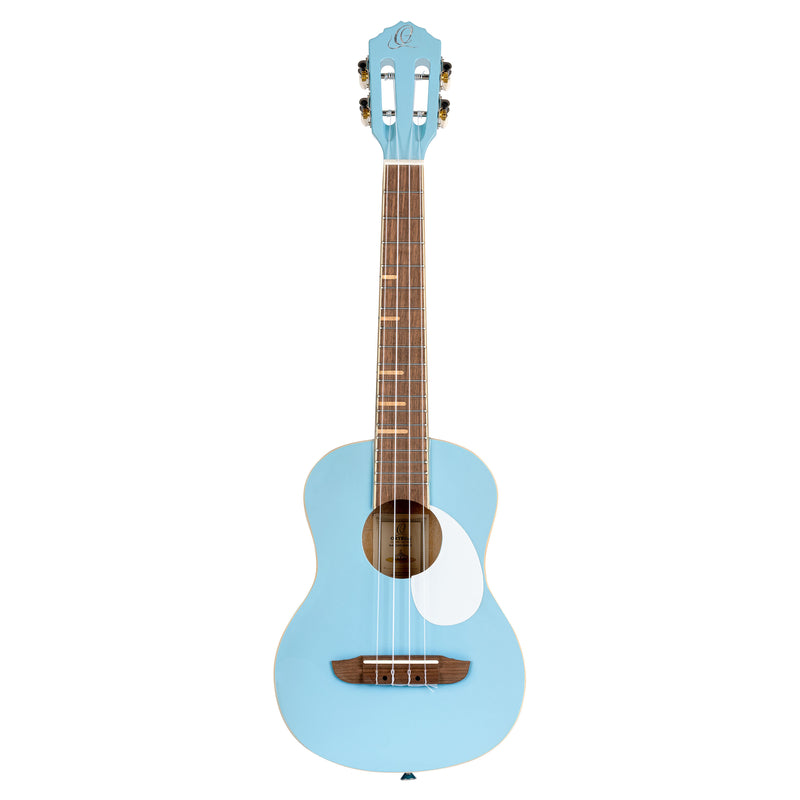 Ortega Gaucho Series Tenor Ukulele in Sky Blue Gloss