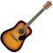 Fender FA-125 Acoustic Guitar in Sunburst