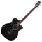 Takamine G-Series GB30CE-BLK Electro-Acoustic Bass in Black Gloss