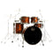 Mapex Limited Edition Saturn V Exotic Fusion Shell Pack in Polished Walnut Burl