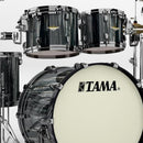 Tama Starclassic Maple 4pc Shell Pack in Black Clouds & Silver Linings (Black Nickel H/W)