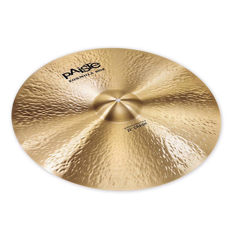 "Paiste Formula 602 Modern Essentials 22"" Crash"