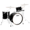 "Ludwig NeuSonic 20"" 3 Pce Shell Pack in Black Cortex"