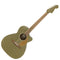 Fender Newporter Player Electro-Acoustic Guitar in Olive Satin