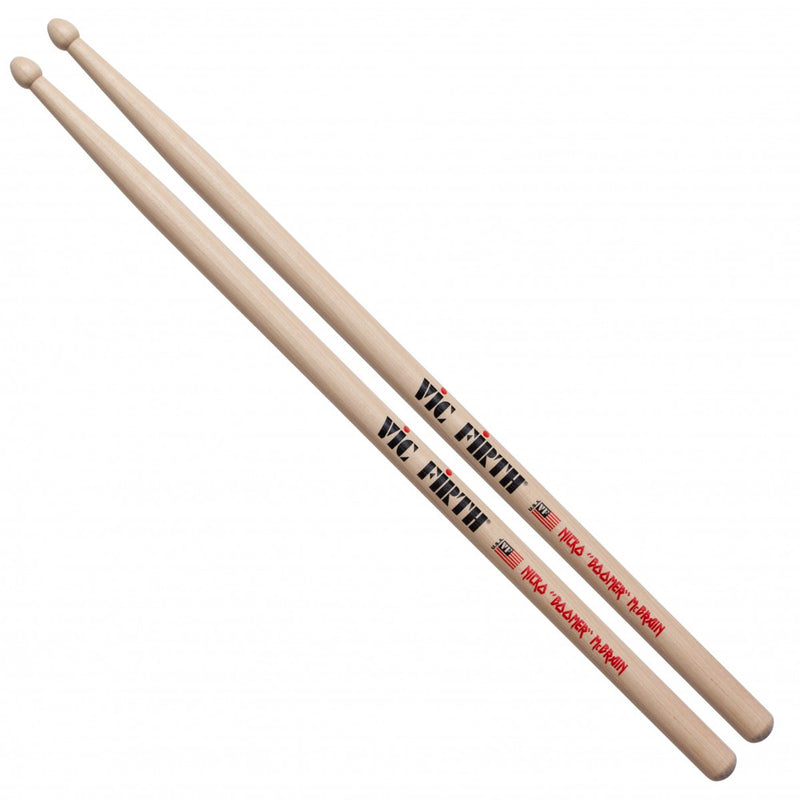 Vic Firth Signature Series -- Nicko McBrain - Wood Tip