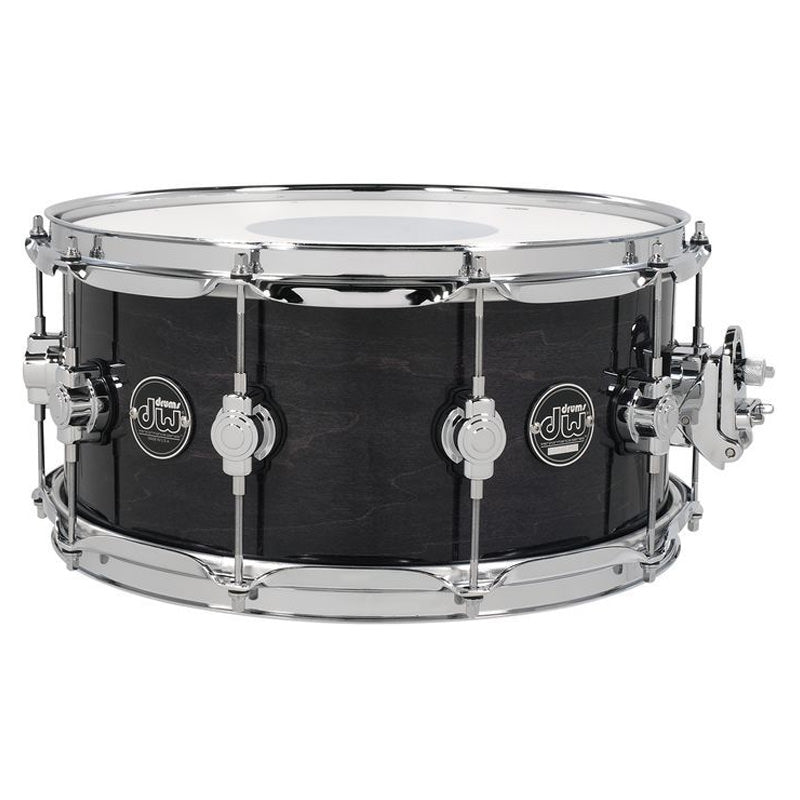 "DW Performance Series 14""x6.5"" Snare Drum in Ebony Stain Lacquer"