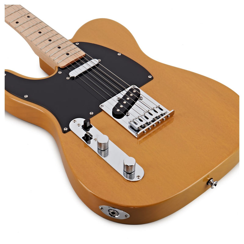 Squier Affinity Series Telecaster Left-Handed in Butterscotch Blonde