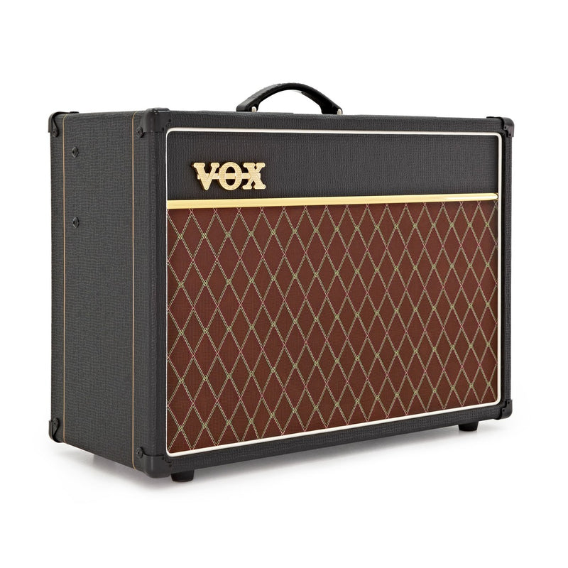 VOX AC15 All-Valve 15-watt Guitar Combo Amp