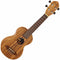 Ortega Timber Series Soprano Ukulele with Zebrawood Top