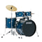 Tama Rhythm Mate 5pc Drum Kit with Zildjian Planet Z Cymbals in Hairline Blue