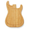 Fender Stratocaster Shaped Cutting Board