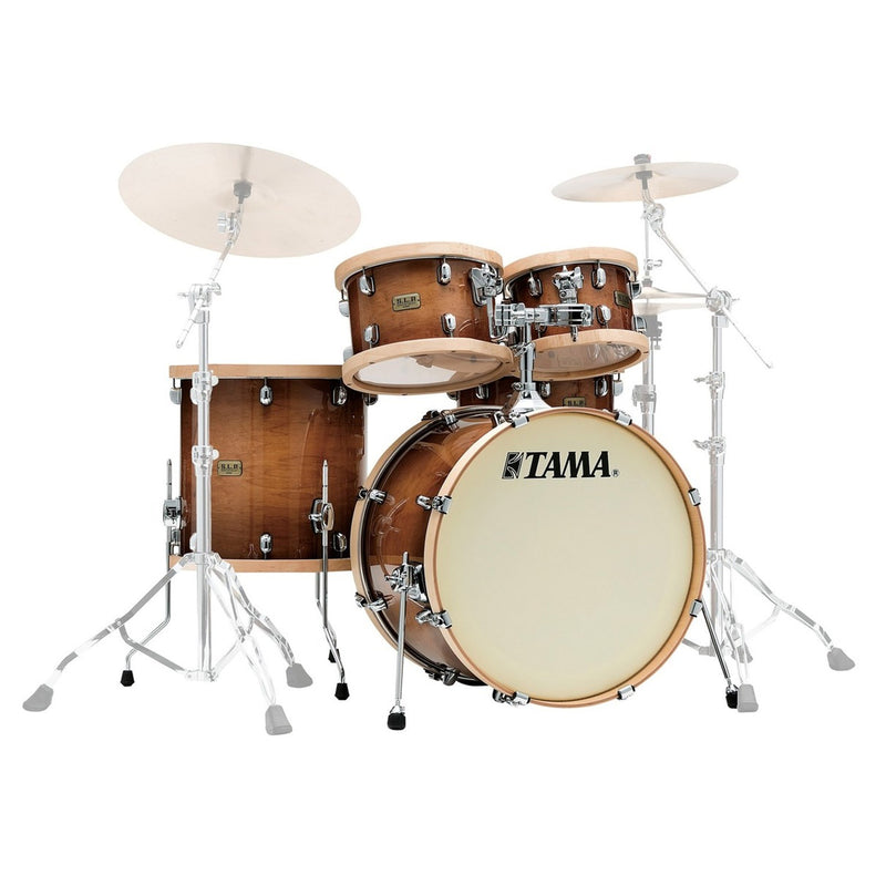 Tama Limited Edition S.L.P. Studio Maple Shell Pack in Gloss Sienna
