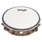 "Stagg 8"" Tunable Plastic Tambourine in Natural - 1 Row of Jingles"