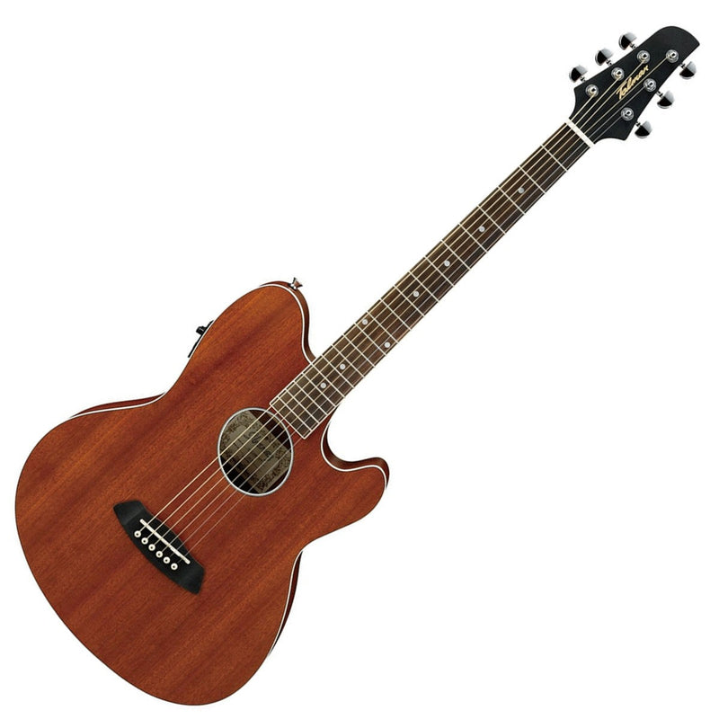 Ibanez Talman TCY12E-OPN Electro-Acoustic Guitar Mahogany Top - Open Pore Natural