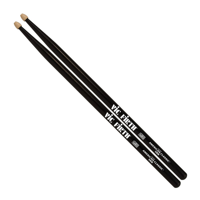 Vic Firth American Classic 5B in Black - Wood Tip