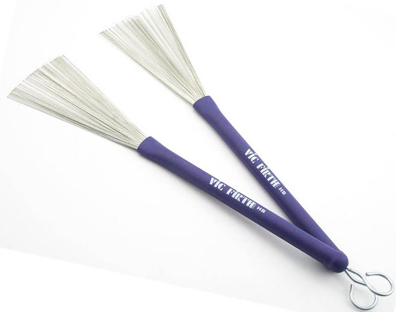 Vic Firth Heritage Brush with Rubber Handle