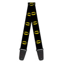 Buckle-Down Guitar Strap - Batman Shield