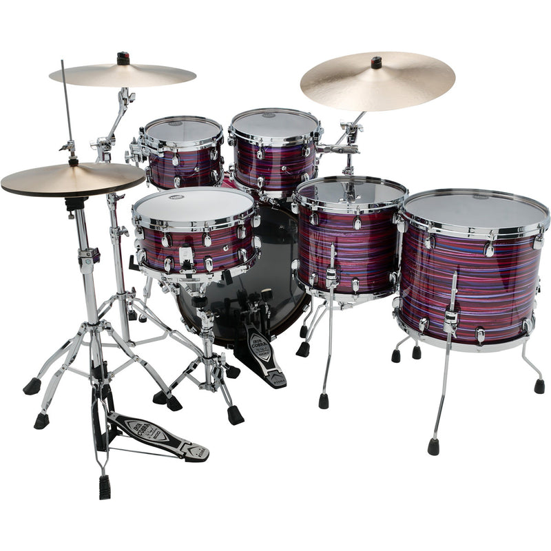 Tama Starclassic Walnut/Birch 5pc Shell Pack in Lacquer Phantasm Oyster