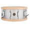 "Gretsch ""Full Range"" 14""x6.5"" Aluminum Snare Drum with Wood Hoops"