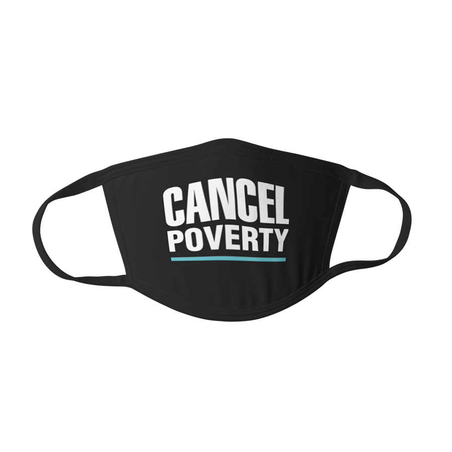 Cancel Poverty Mask