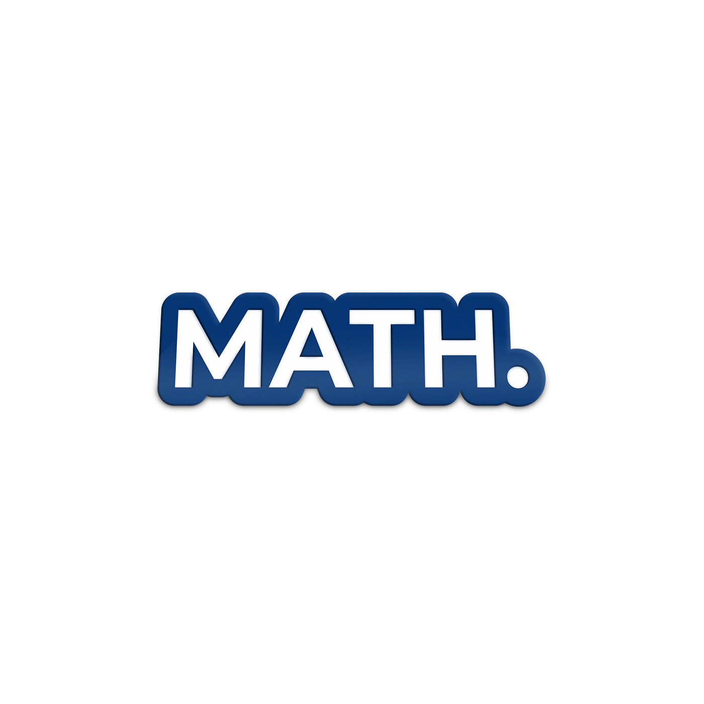 MATH Enamel Lapel Pin