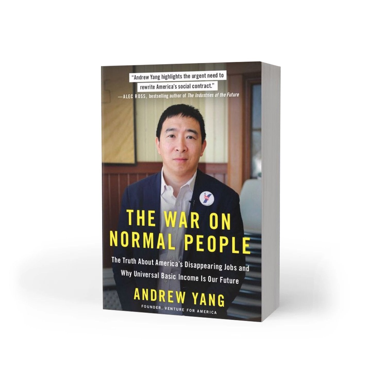 The War on Normal People Softcover