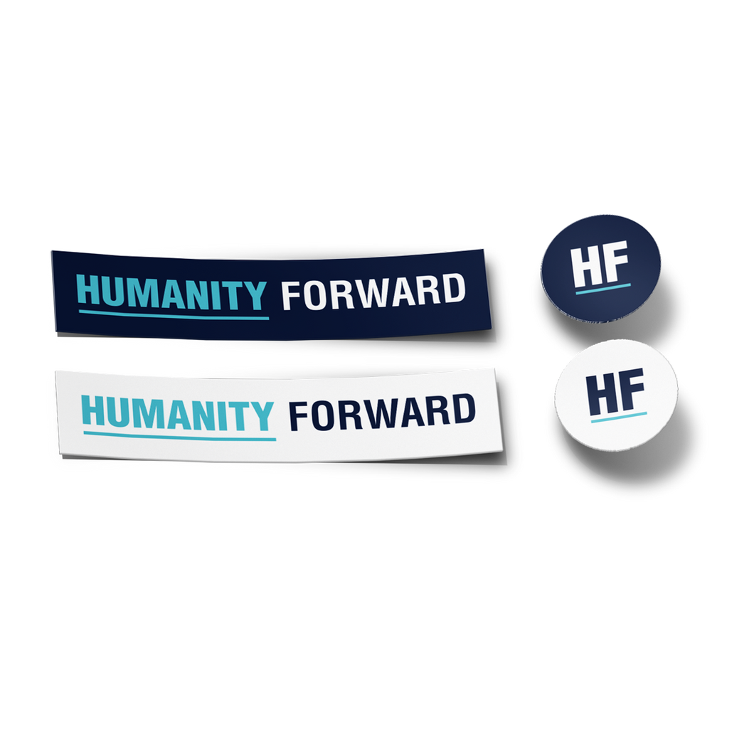 Humanity Forward Sticker Pack ( 4 STICKERS )