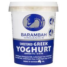 Barambah Yoghurt Greek 500g
