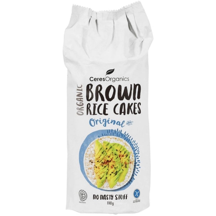 Ceres Organics Brown Rice Cakes 110g