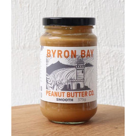 Byron Bay Peanut Butter Smooth 375g