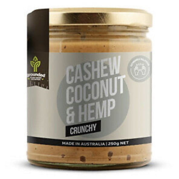 Grounded Cashew Coconut and Hemp 250g