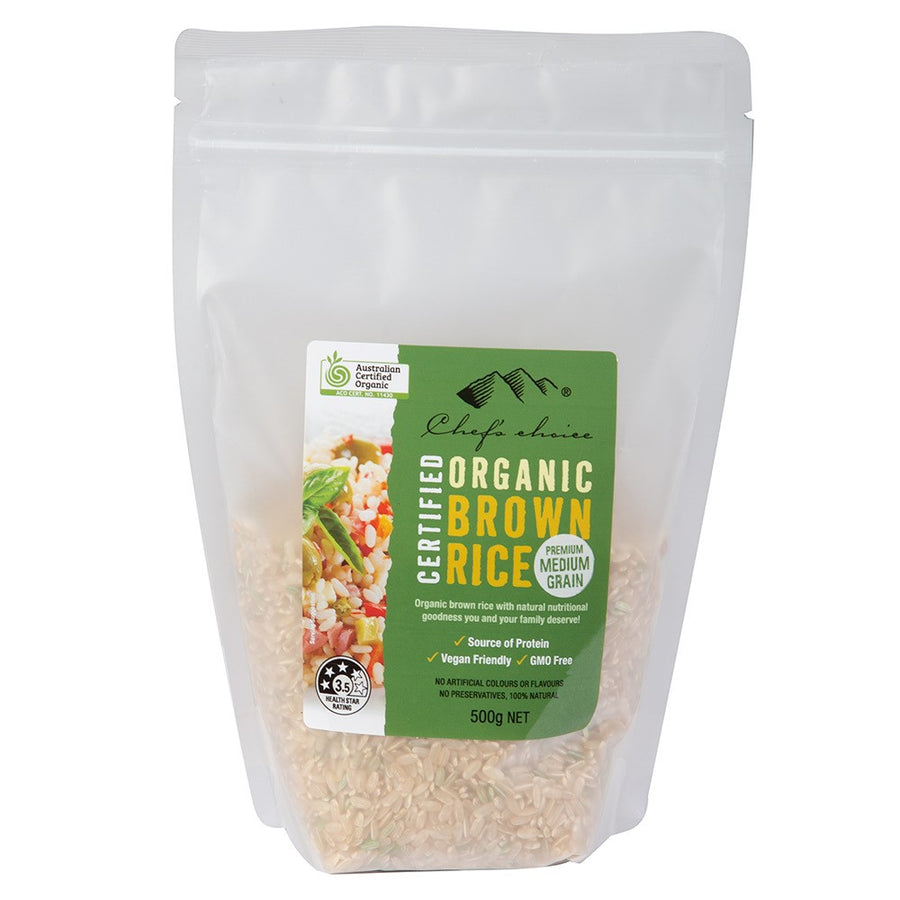 Chefs Choice Brown Rice Medium Grain 500g