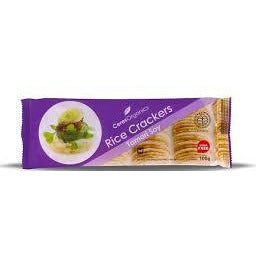 Ceres Organic Tamari Rice Crackers 100g